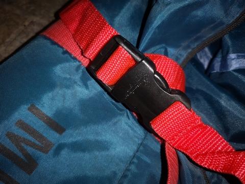 Палатка Canadian Camper IMPALA 3, цвет royal, утягивающая застежка сумки.