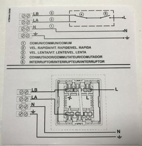 Регулятор скорости Soler & Palau Regul-2 (2-х ступенчатый)