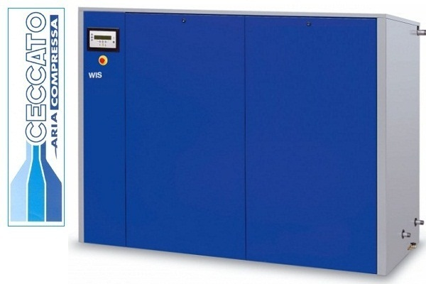 Компрессор винтовой Ceccato WIS 40 W 10 APB 400/3/50 DRY с водяным охлаждением