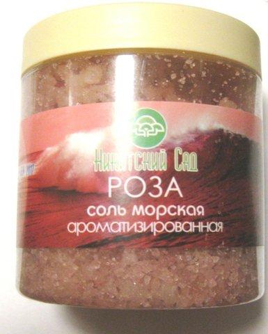 Соль для ванн «Роза»™Никитский Сад