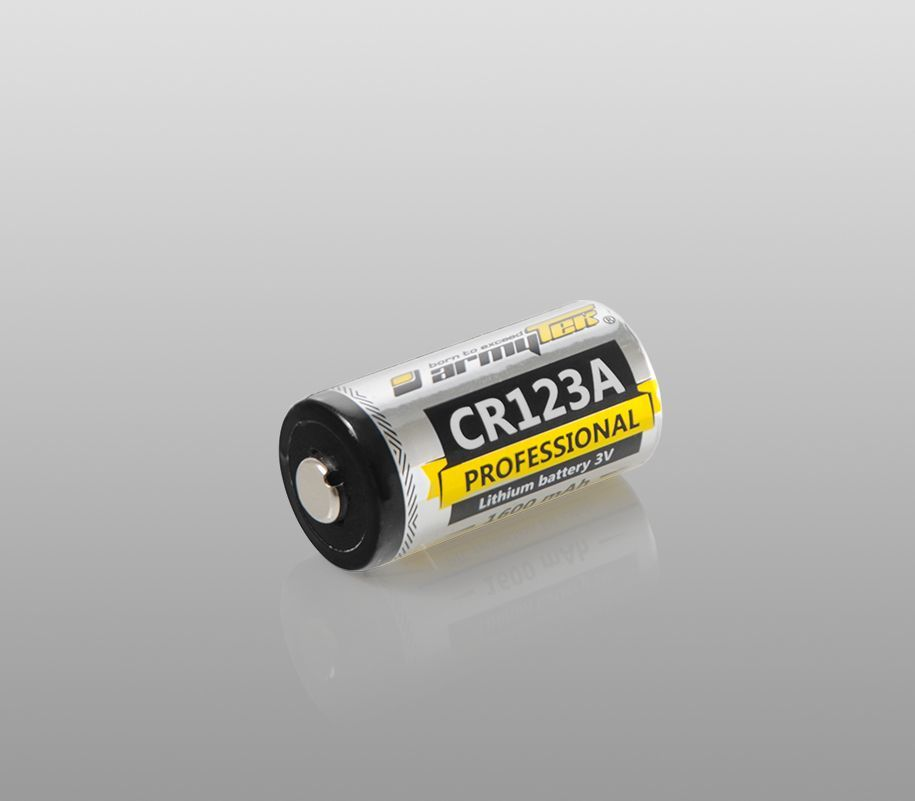 Батарейка Armytek CR123A 1600 mAh - фото 1