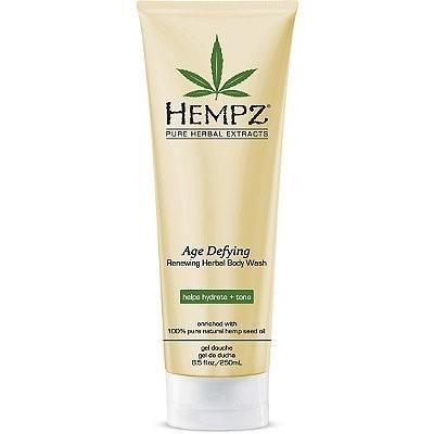Hempz - Средства для душа: Гель для душа Антивозрастной (Age Defying Herbal Body Wash), 250мл