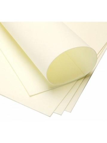 Фоамиран иранский 1 мм. Размер: 30*35 см. Цвет: молочный