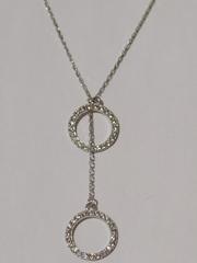 0320296-1,3 (серебряная цепочка с подвеской)