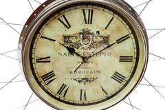 Часы настенные Secret De Maison WHEEL ( mod. 47578 ) — черный/никель