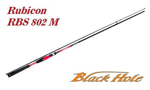 Спиннинг Black Hole Rubicon 802M 2.44м, 10-40г, RBS-802M