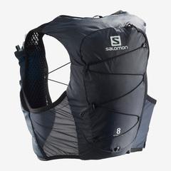 Рюкзак для бега Salomon Active Skin 8 Set Ebony/Black