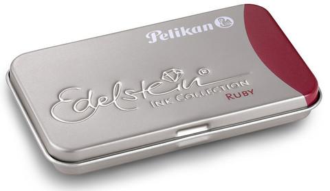 Pelikan Edelstein Чернила (картридж), рубиновые, 6 шт в упаковке