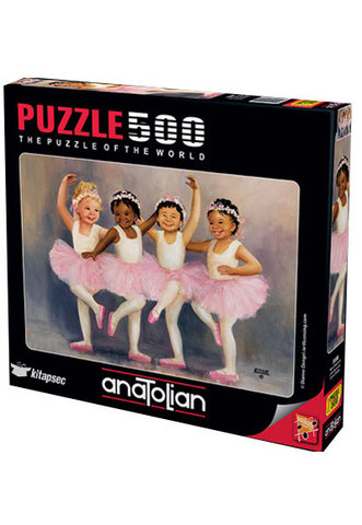 Puzzle Minik Balerinler. Little Ballerinas 500 pcs