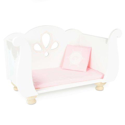 Le toy van. Игрушечная кровать для куклы с комплектом белья