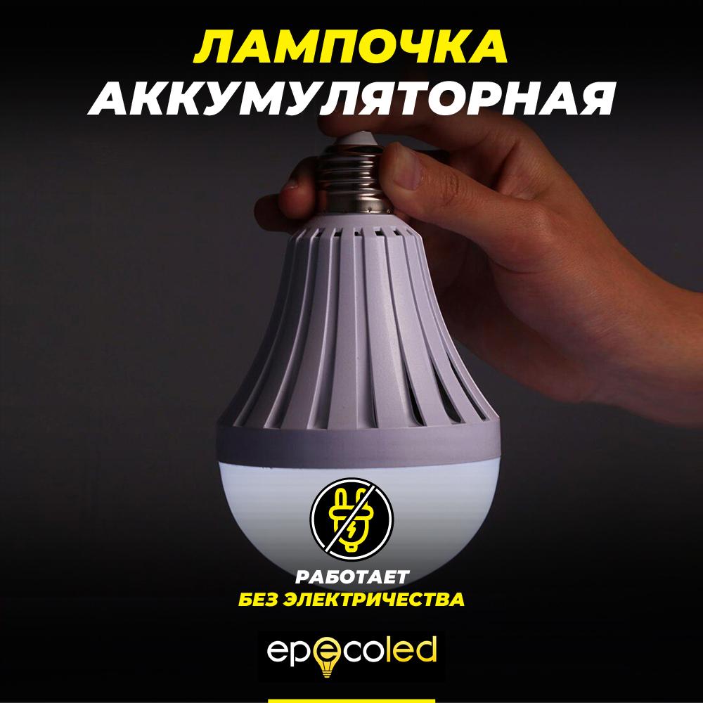 Лампочка EPECOLED 9W (аккумуляторная)