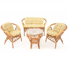 Плетеный комплект мебели из ротанга Vinotti Сулавеси