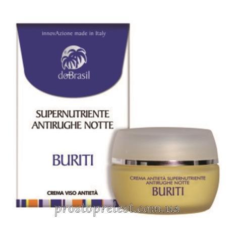Dobrasil crema supernutriente antirughe notte - Ночной суперпитательный антивозрастной крем для лица с маслом бурити