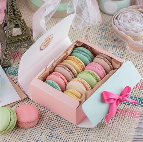Пирожные Макарон в подарочной упаковке (10шт)