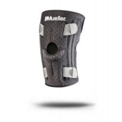 6937 NEW !!! Adjust-To-Fit® Knee Stabilizer, Наколенник из нового легкого и дышашего материала без неопрена и латекса. Внутренние ремни для 4-х сторонней подгонки по ноге.