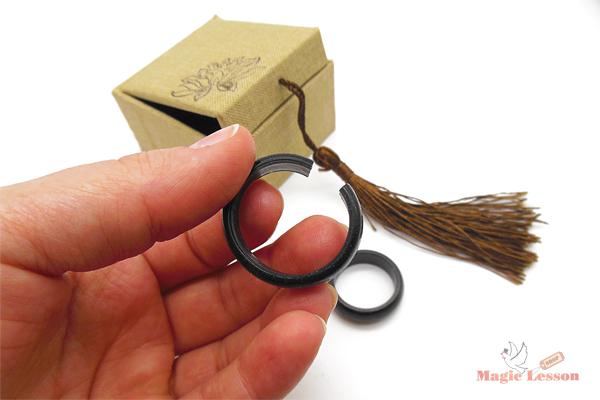 фокус с кольцом