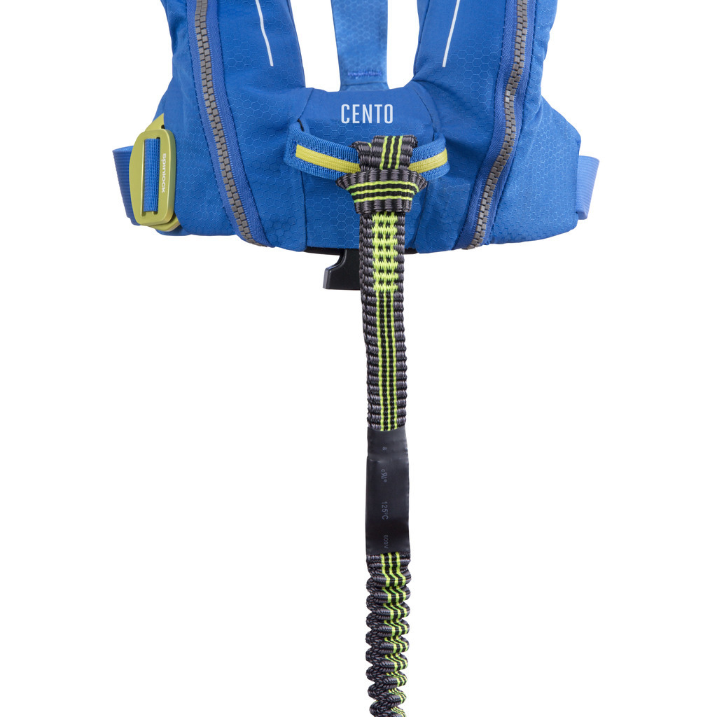 Deckvest Cento junior lnflatable lifejacket with harness
