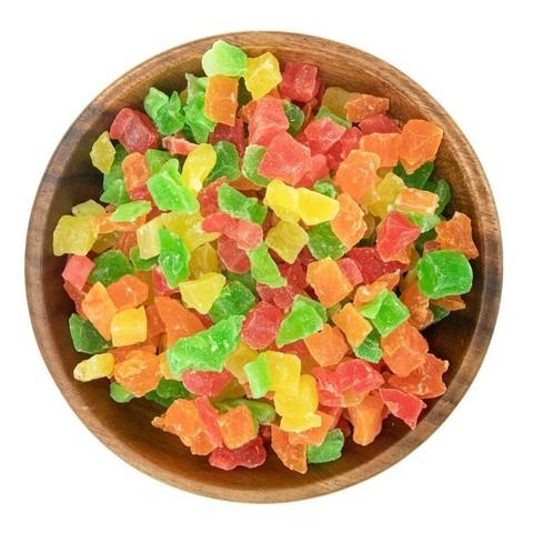 Ананас цукаты кубики 1 кг.
