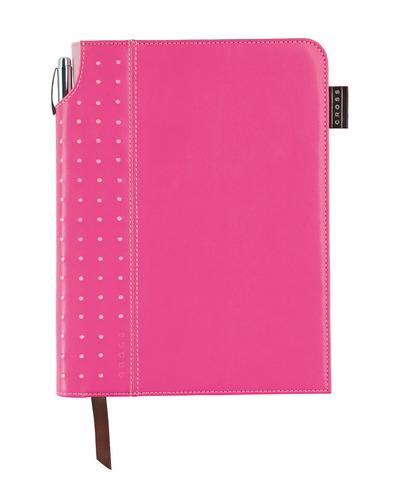 Записная книжка Cross Journal Signature A5, 250 страниц в линейку, ручка 3/4 в комплекте. Цвет - роз