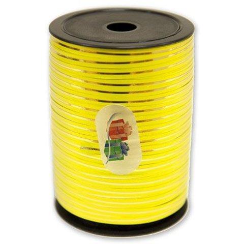 Лента с зол полосой 5ммХ250м желтая/ Ит