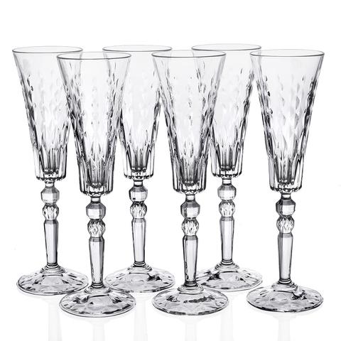 Набор фужеров для шампанского RCR Marilyn 170 мл, 6 шт