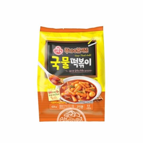 Рисовые клёцки Токпокки OTTOGI  с острым бульоном 426г Южная Корея