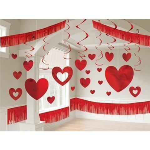 Комплект декораций Св.Валентин, 28 предм