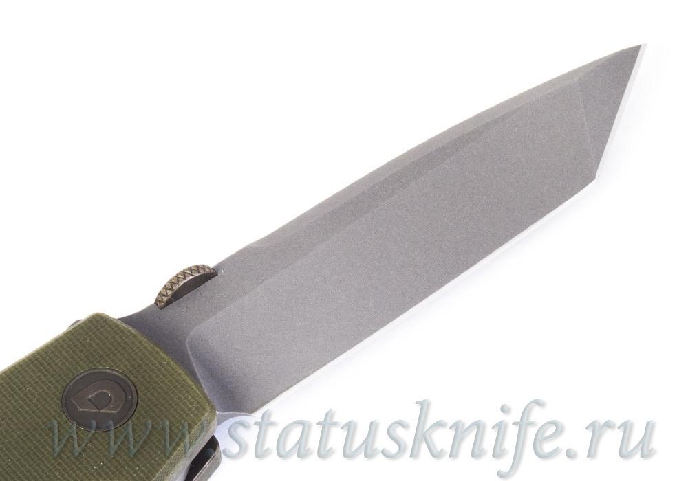 Нож Bob Terzuola ATCF Tanto OD Drop - фотография