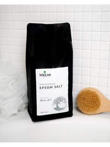 Welive Английская соль EPSOM salt 1 кг