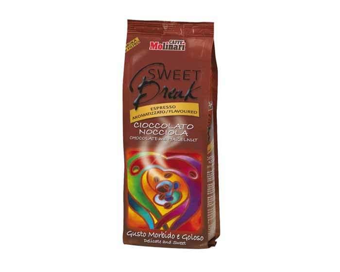 Кофе молотый Molinari SWEET BREAK HAZELNUT & CHOCOLATE FLAVOUR, 250 г