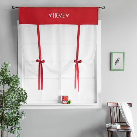 Готовая штора Lolo красный