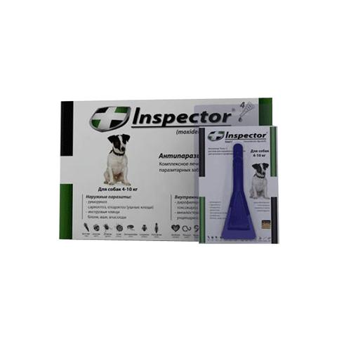 Inspector Total C капли для собак 4-10кг