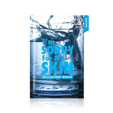 I'm Sorry For My Skin Маска тканево-гелевая для лица увлажняющая pH5.5 Jelly Mask-Moisture (Water), 1 шт