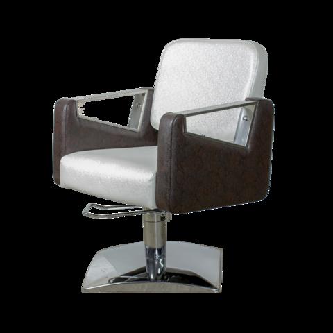 Парикмахерское кресло МД-201 гидравлика хром, квадрат хром