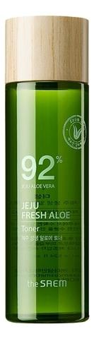 SAEM Jeju Fresh Aloe Toner Тонер увлажняющий с алоэ 155мл