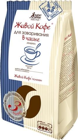 Кофе фасованный Кофе для заваривания в чашке ЧАЙ ИП Кавацкая М.А. 1кг