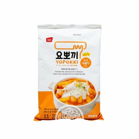 Рисовые клёцки Токпокки OTTOGI б/п со вкусом сыра не острая 240г Корея