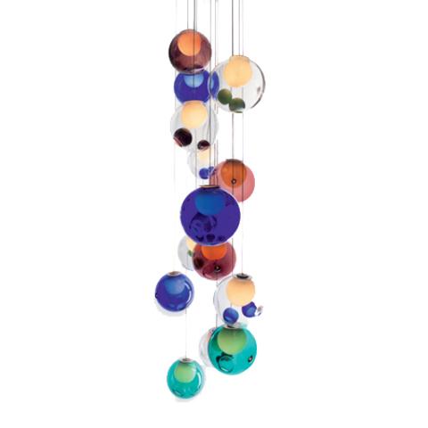 Подвесной светильник копия 28.16 by Bocci (разноцветный)