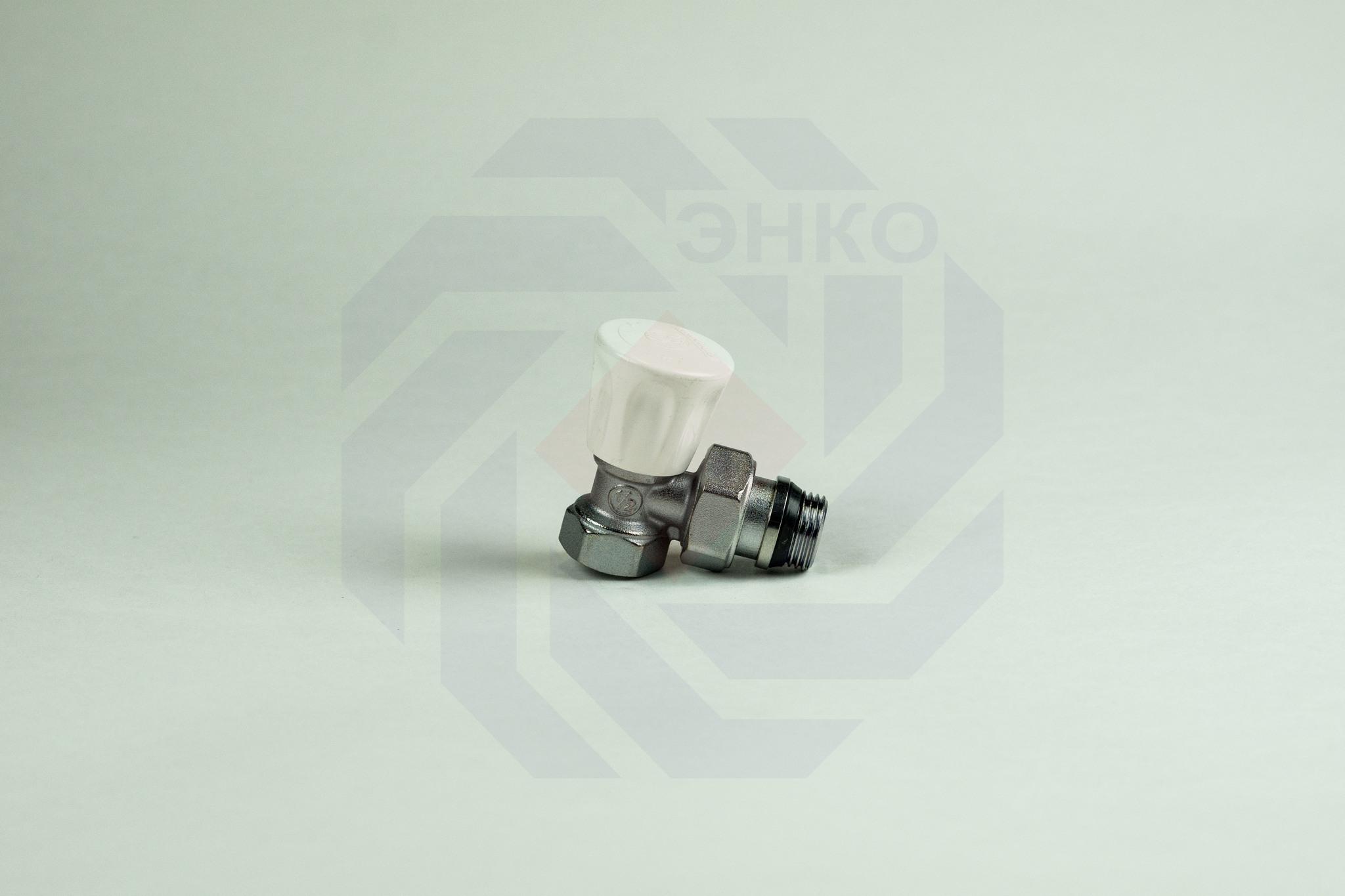 Клапан радиаторный ручной GIACOMINI R705A угловой ½