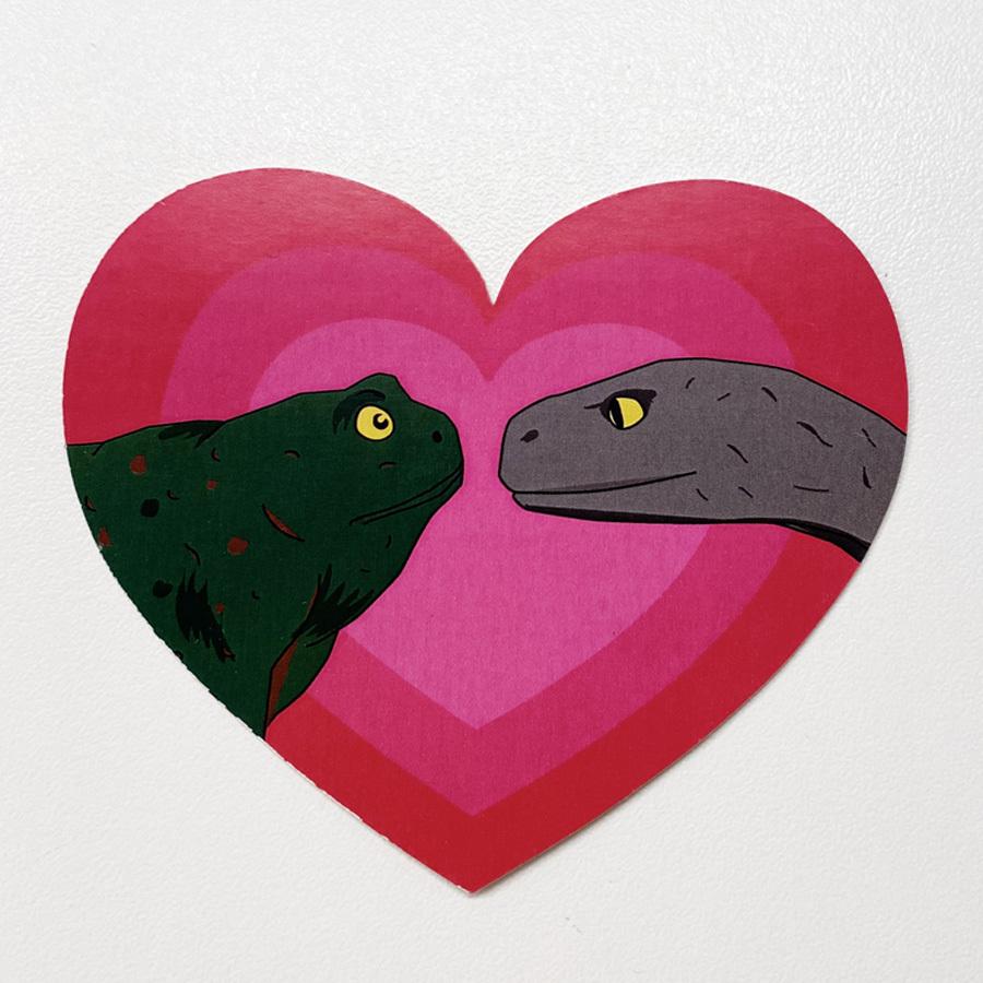 Жаба и Гадюка in love / набор открыток
