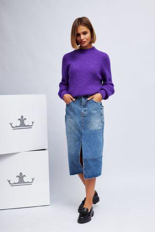 Essentiel Antwerp Юбка джинсовая