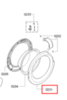 Обрамление люка внешнее для стиральной машины Bosch (Бош) 748152