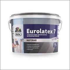 Краска в/д для интерьера DUFA RETAIL EUROLATEX 7 матовая (Белый)