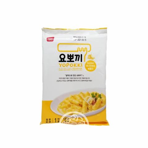 Рисовые клёцки Токпокки OTTOGI б/п с луково-чесночным соусом 240г Корея