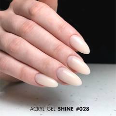 Акрил-гель SHINE (Acryl gel SHINE) #G028, 30 ml