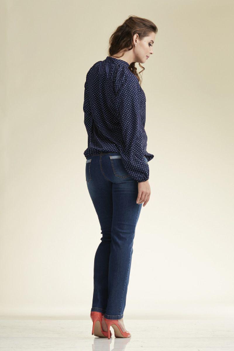 Блузка для беременных 02223 синий