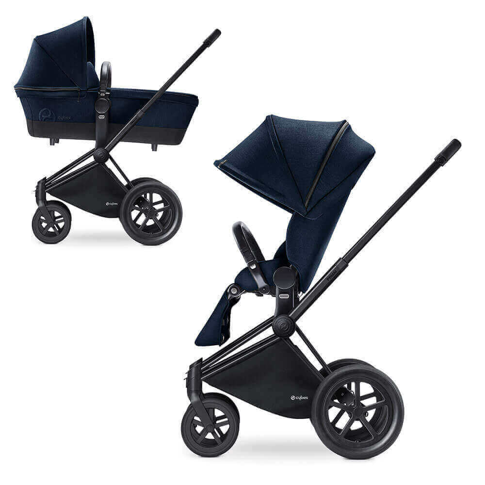 Цвета Cybex Priam 2 в 1 Детская коляска Cybex Priam Lux 2 в 1  Midnight Blue шасси Matt Black/All Terrain cybex-priam-midnight-blue-all-terrain-black.jpg