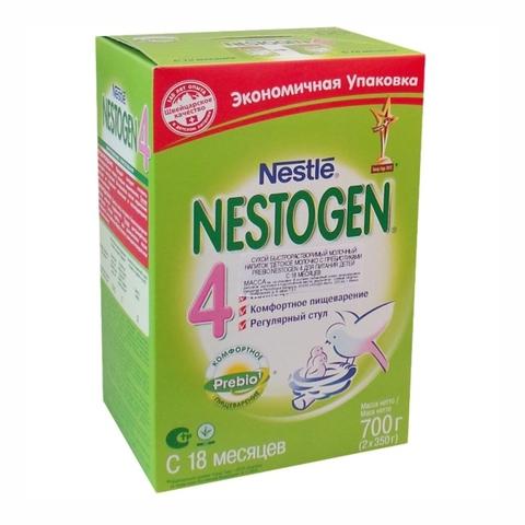 Смесь NESTOGEN 4 2*350 гр 18+ Nestle ШВЕЙЦАРИЯ