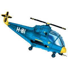 F Вертолет (синий), 38