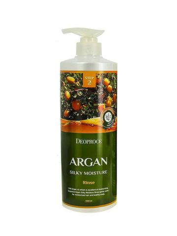DEOPROCE HAIR ARGAN Бальзам для волос с аргановым маслом DEOPROCE RINSE - ARGAN SILKY MOISTURE  1000мл